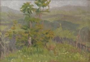 Juliusz KĘDZIORA (1908-1988), Pejzaż, 1957