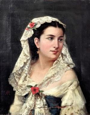 Tytus MALESZEWSKI (1827-1898), Portret kobiety
