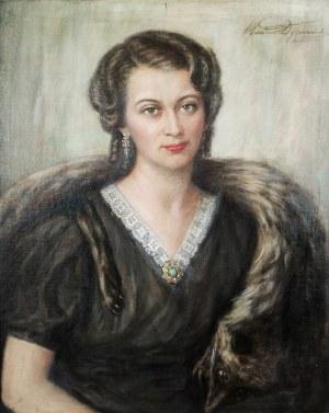 Wacław DYZMAŃSKI (1874-1944), Portret kobiety
