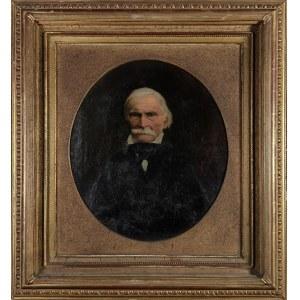 Malarz nieokreślony, XIX w., Portret starszego mężczyzny