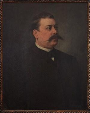 Constanze VON BREUNING (1856-1908), Portret męski, 1892