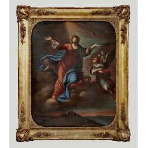 Malarz nieokreślony, XIX w., Wniebowzięcie Marii