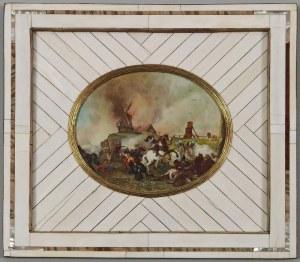 Autor nieokreślony, XIX w., Potyczka -  miniatura