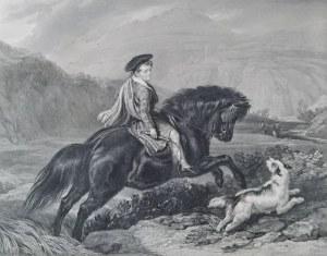 Charles George LEWIS (1808-1880), Młodzieniec na koniu [The Young Mountaineer]