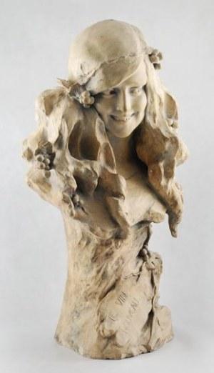 Friedrich GOLDSCHEIDER, Popiersie kobiety - Le vin nouveau