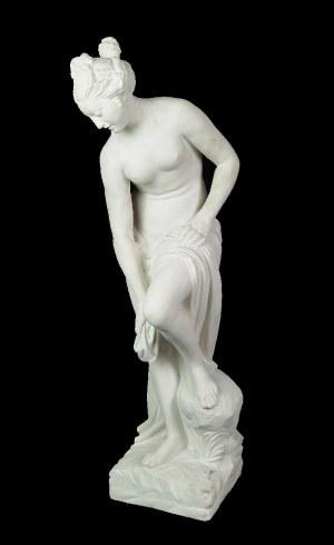 Christophe-Gabriel ALLEGRAIN (1710-17950) - według, Wenus wychodząca z kąpieli