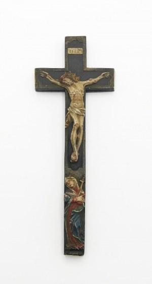 Krucyfiks - relikwiarz