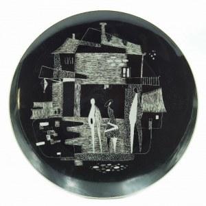 Zakłady Porcelany Stołowej w Chodzieży, Talerz dekoracyjny z kompozycją