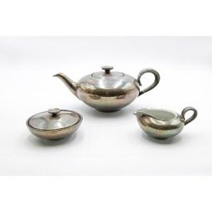 Württembergische Metallwarenfabrik (zał. 1880), Heinrich & Co (czynna 1901-1976), Komplet do herbaty