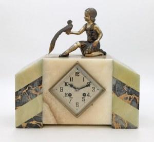 Zegar gabinetowy art déco