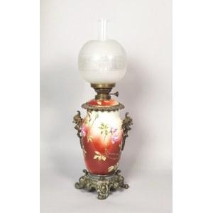 Lampa naftowa ze smokami
