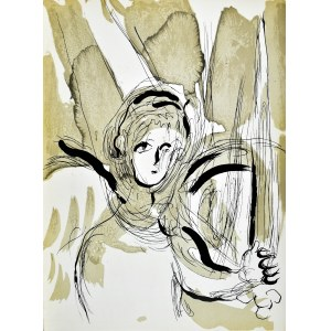 Marc CHAGALL (1887 - 1985), Angel with a Sword