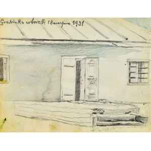 Kazimierz CHMURSKI(1897-1942), Dom w Grabince, 1931