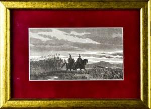 Juliusz KOSSAK (1824-1899), Wymarsz wojska pod wodzą Księcia