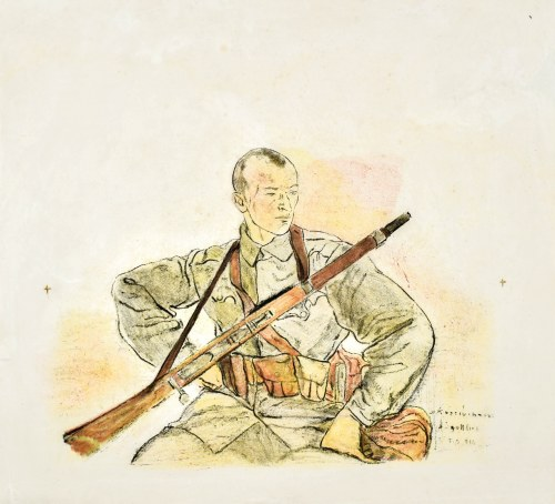 Leopold GOTTLIEB (1883-1934), Legionista