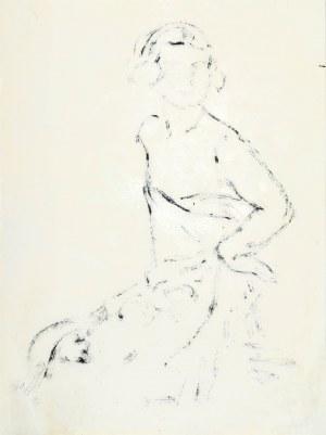 Leopold GOTTLIEB (1883-1934), Szkic kobiety