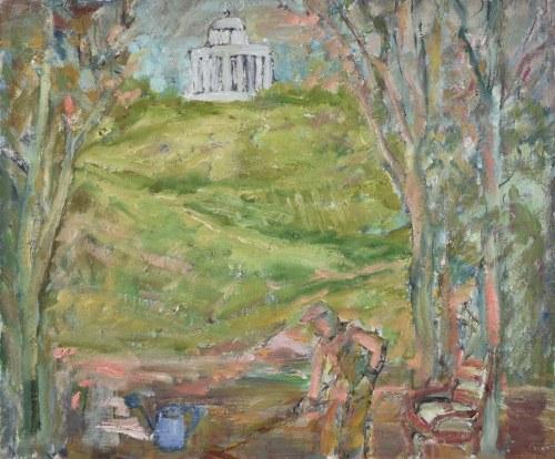 Henryk KRYCH (1905-1980), Prace w ogrodzie
