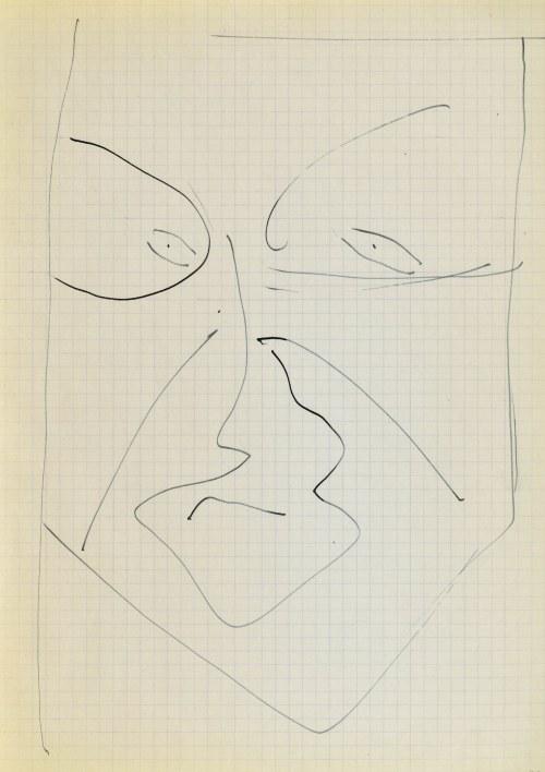 Jerzy PANEK (1918-2001), Głowa - autoportret III, 1963
