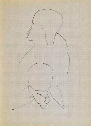Jerzy PANEK (1918-2001), Głowy, 1963