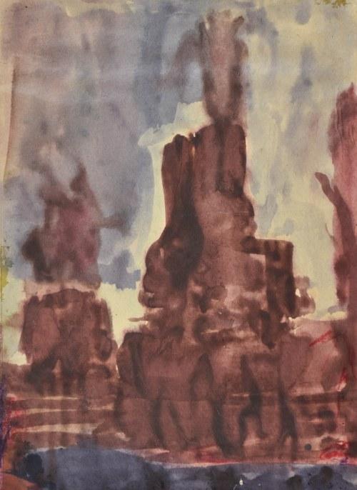 Krystyna PELLETIER (1914-2007), Widok z okna