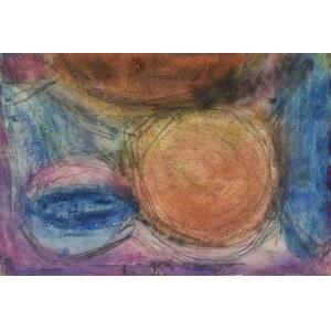 Krystyna PELLETIER (1914-2007), Kompozycja z kołem