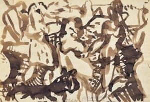 Kazimierz PODSADECKI (1904-1970), Kompozycja figuralna, 1961
