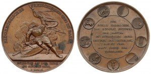 Switzerland Medal 1844 To the Federal Free Shooting in Basel. Averse: Memorial of the Battle of St. Jacob an der Birs...