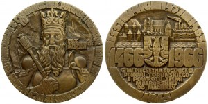 Poland Medal 1966 500th anniversary of the signing of the Torun peace. 1466-1966. Treaty Project by W. Tolkin. Bronze...