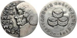Poland Medal (1967) Tadeusz Kościuszko (1746 - 1817). For our freedom and your freedom medalist...