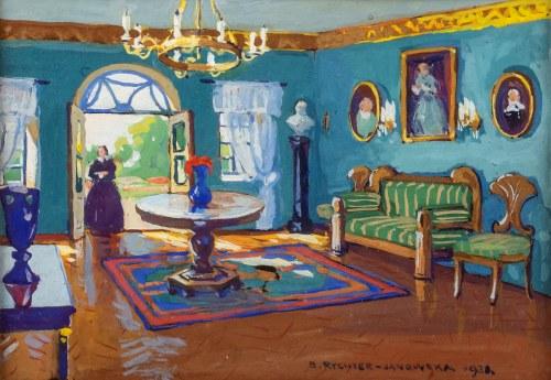 Bronisława Rychter-Janowska (1868 Kraków - 1953 tamże), W starym dworku