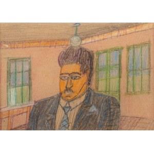 Nikifor Krynicki (1895 Krynica-1968 Folusz), Portret mężczyzny