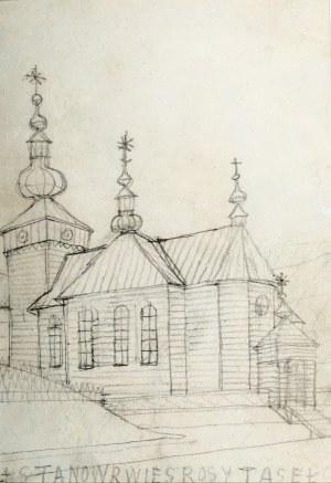Nikifor Krynicki (1895 Krynica-1968 Folusz), Kościół