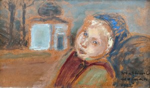 Wlastimil Hofman (1881 Praga - 1970 Szklarska Poręba), Pod Bożą opieką, 1962 r.