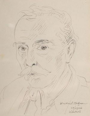 Wlastimil Hofman (1881 Praga - 1970 Szklarska Poręba), Autoportret, 1946 r.