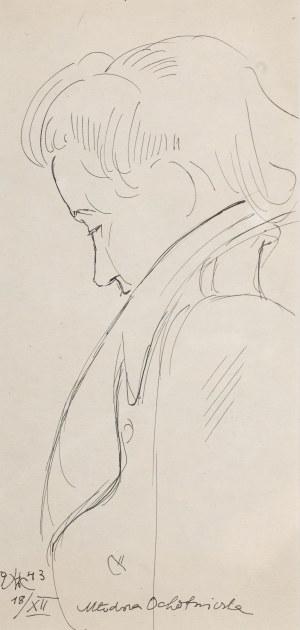Wlastimil Hofman (1881 Praga - 1970 Szklarska Poręba), Młodsza ochotniczka, 1943 r.