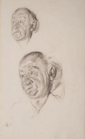 Józef Mehoffer (1869 Ropczyce - 1946 Wadowice), Studia głowy – szkic do portretu Aleksandra Dejeana