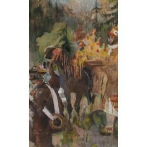 Kazimierz Sichulski (1879 Lwów - 1942 tamże), Wesele huculskie