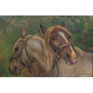 Jan Erazm Kotowski (1885 Opatkowiczki k. Pińczowa - 1960 Milanówek), Konie