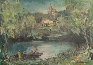 Marian Mokwa (1889 Malary - 1987 Sopot), Pejzaż z Kaszub
