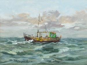 Eugeniusz Dzierzencki (1905 Warszawa - 1990 Sopot), Kuter rybacki