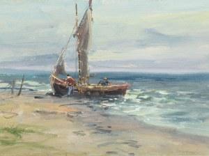 Eugeniusz Dzierzencki (1905 Warszawa - 1990 Sopot), Przy brzegu