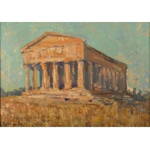 Henryk Baranowski (1932 Starogard Gdański - 2005 Gdynia), Ruiny greckiej świątyni