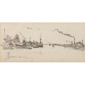 Antoni Suchanek (1901 Rzeszów - 1982 Gdynia), Statki w porcie