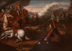 Malarz nieokreślony (XVIII w.), Scena bitewna
