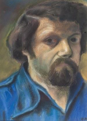 Andrzej Leszczyszyn (1940 Sanok - 1996 Gdynia), Autoportret