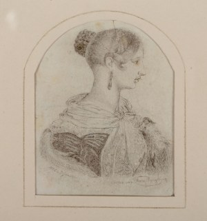 Henry Rozycki (XIX w.), Portret królowej Wiktorii, 1842 r.