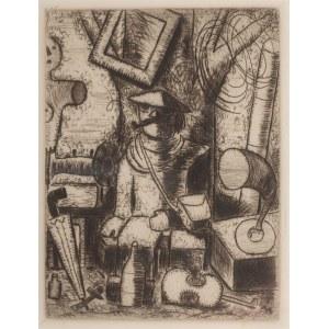 Tadeusz Makowski (1882 Oświęcim - 1932 Paryż), Handlarz starzyzną(L`Antiquaire), ok. 1930 r.
