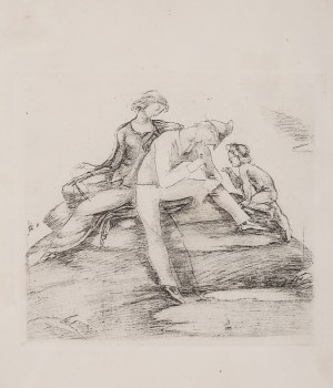 Eugeniusz Zak (1884 Mogilno – 1926 Paryż), Szczęśliwa rodzina