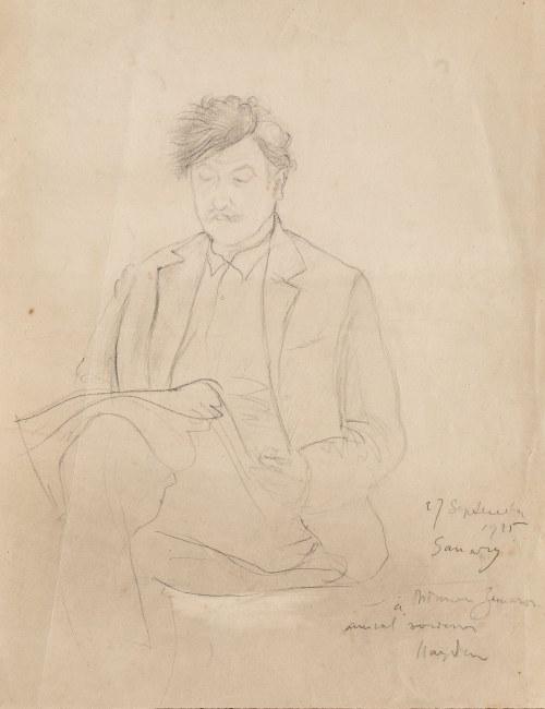Henryk Hayden (1883 Warszawa - 1970 Paryż), Portret mężczyzny