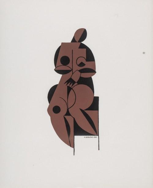 Henryk Berlewi (1894 Warszawa - 1967 Paryż), Akt